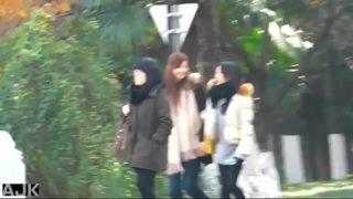 Chinese Girl Toilet Shanghai Metro City 3