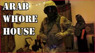 TOUR OF BOOTY – American Soldiers Slinging Dick In An Arab Whorehouse