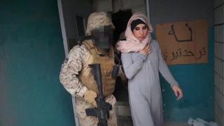 TOUR OF BOOTY – Arab Hooker Satisfies American Soldiers In A War Zone!
