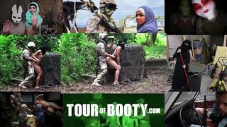 TOUR OF BOOTY – Local Arab Working Girl Entertains American Soldiers In The Middle East