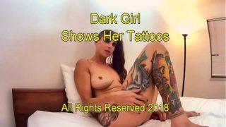 www.fuck4teen.cf – Dark Girl Has Tats-002