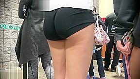 Best Candid Volleyball Ass