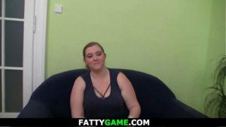 Big belly plumper seduces stranger